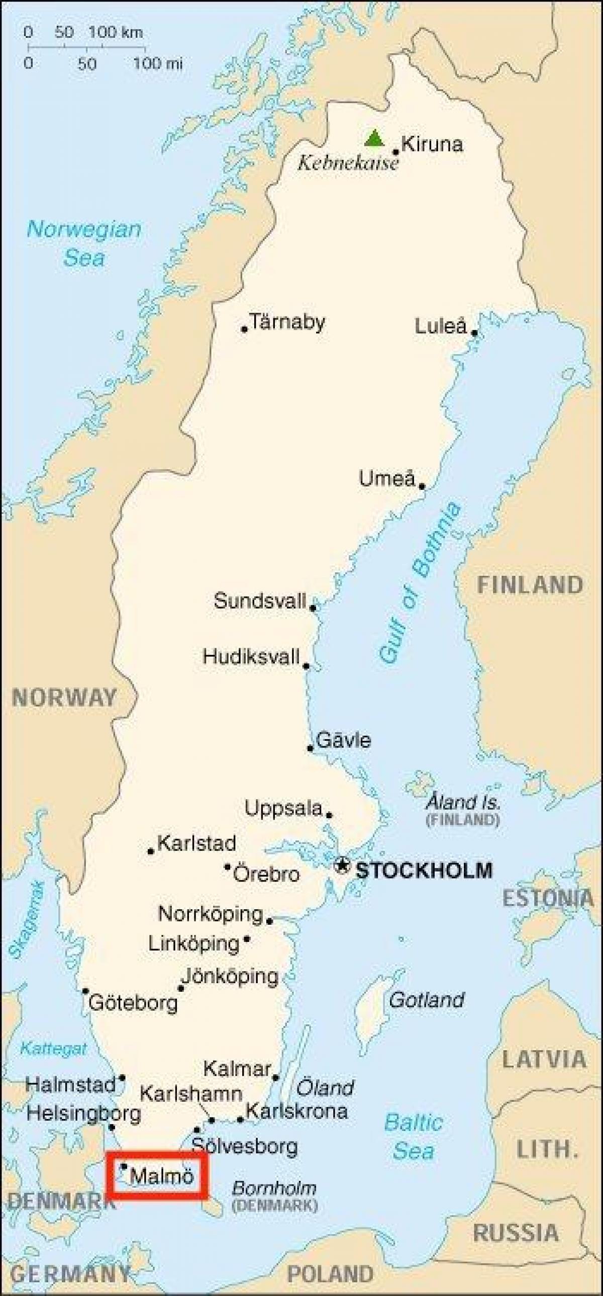 Karta 2019 Malmo Karta